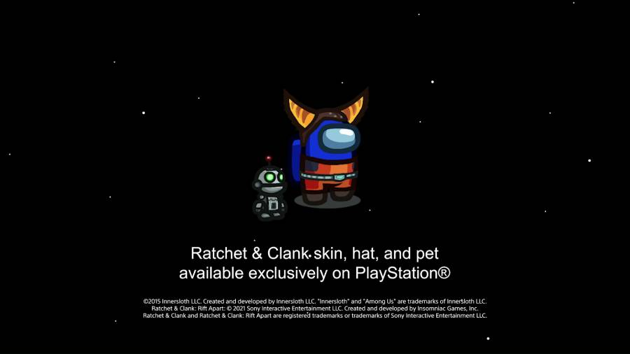 Among Us PS4 PS5 Ratchet & Clank