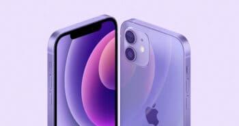 iPhone 12 mini สีม่วง