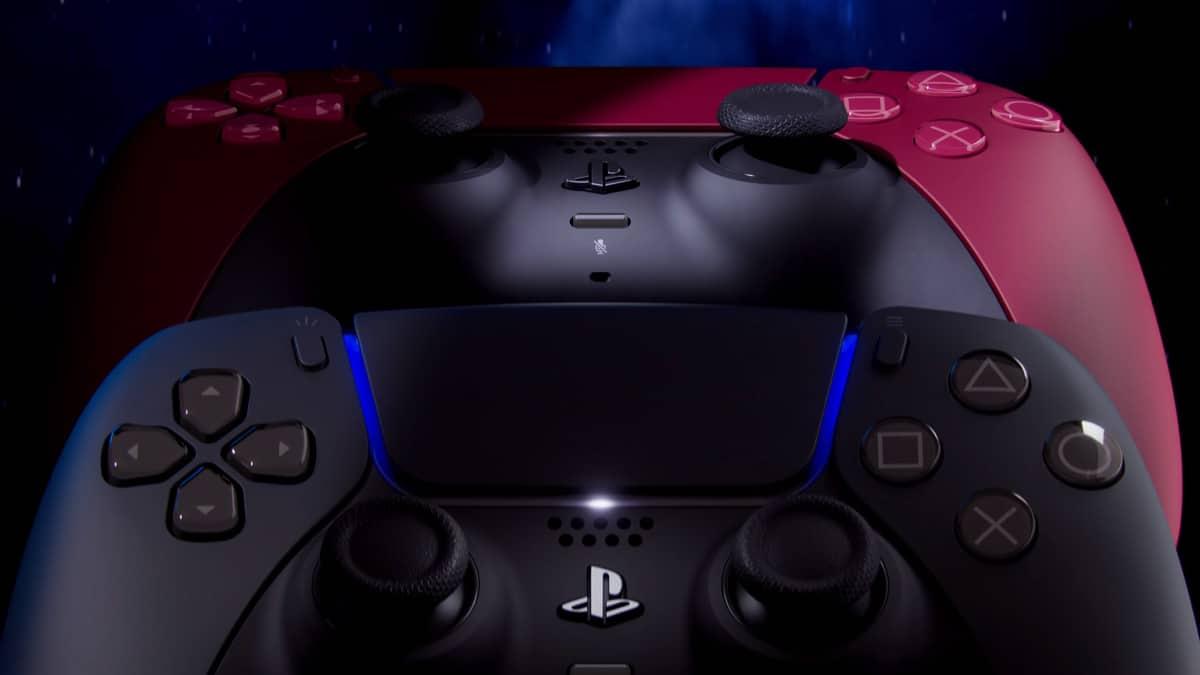 Sony PlayStation 5 DualSense Cosmic Red Midnight Black