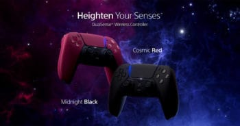 Sony PlayStation 5 DualSense Cosmic Red Midnight Black