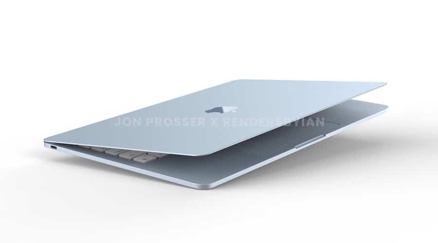 MacBook Air M2 Jon Prosser leaked