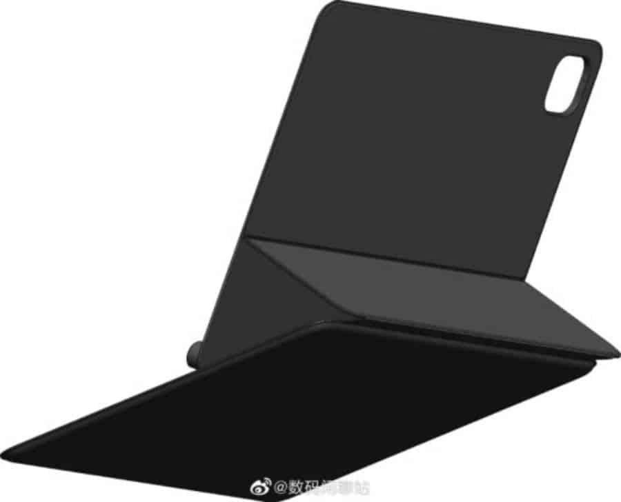 CAD Render Mi Pad 5′ keyboard accessory