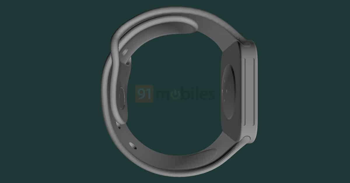 Apple Watch Series 7 CAD Renders